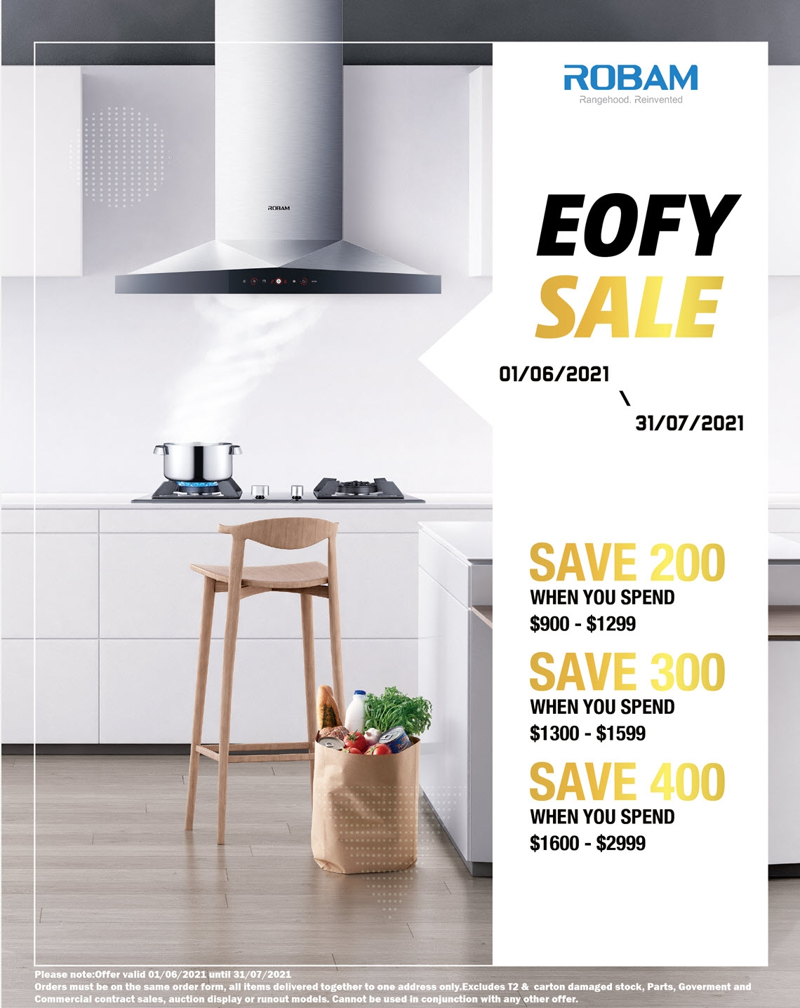 Robam EOFY Sale 2021 Promotion
