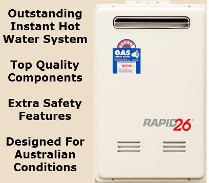 Rapid 26 Instant Hot Water Heater