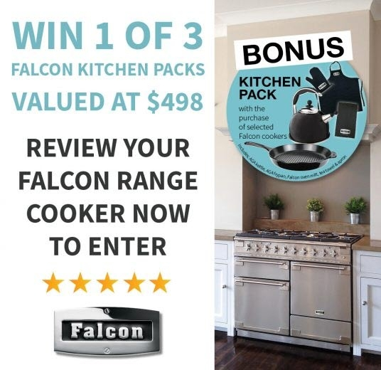 Review Falcon appliance chance to win Falcon Kitchen Packs