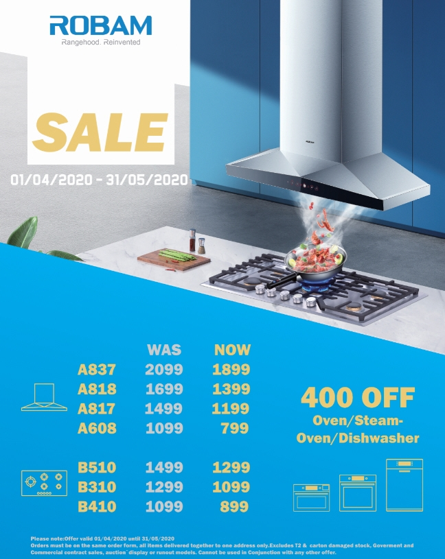 Robam Promotion April-May 2020