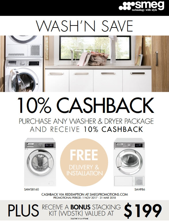 SMEG 10% Cashback Nov'17 - March'18