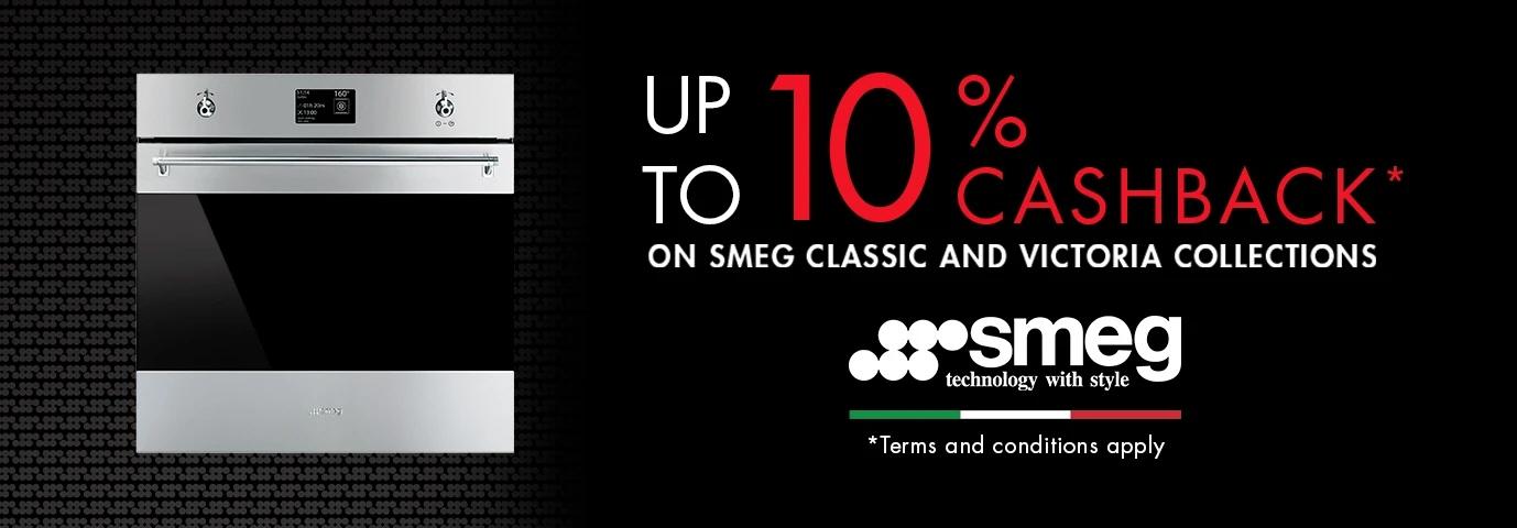 SMEG Save upto 10% Cashback Promotion