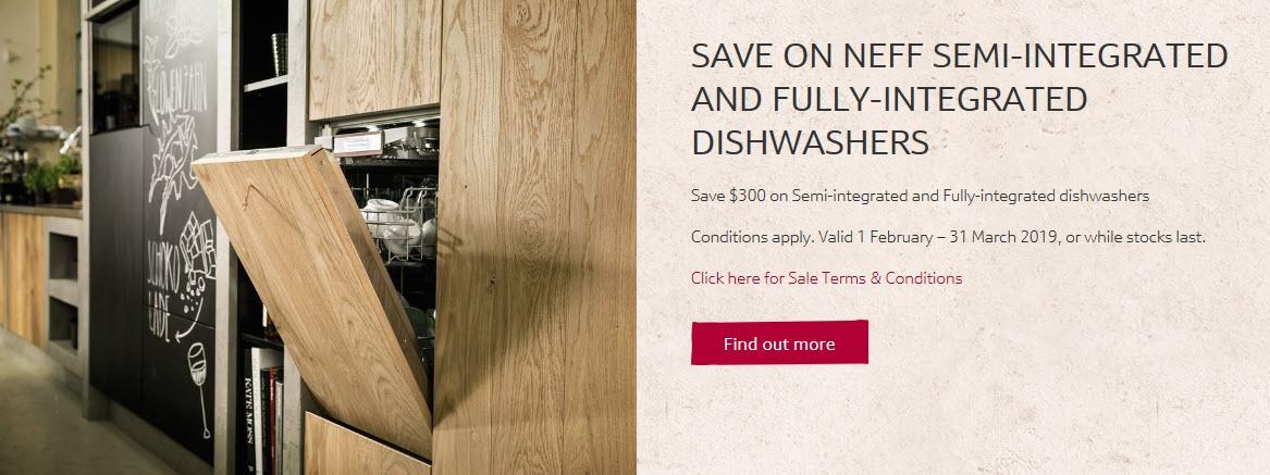 save on dishwasher