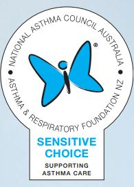 Asthma Council Sensitive Choice Award