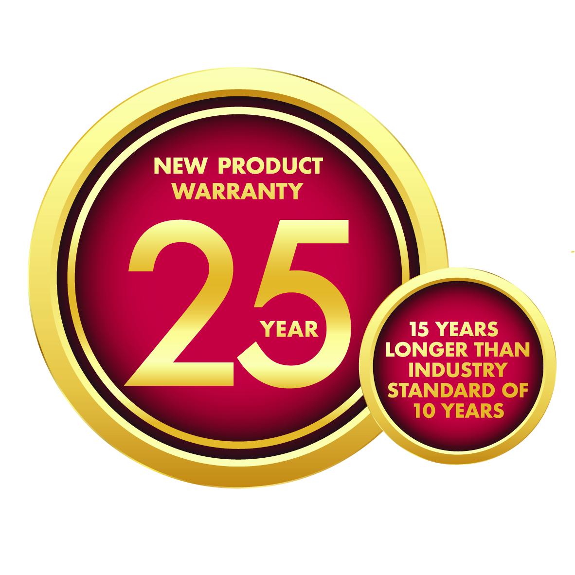 LG 25 Year Warranty Logo