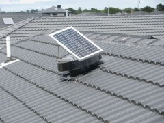 Solar Whiz Product Roof VentFor Home Ventilation