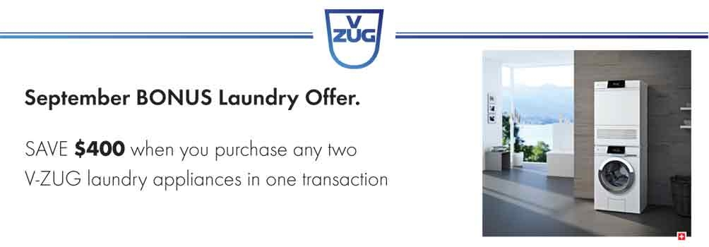 VZUG Sept'17 Laundry Promotion