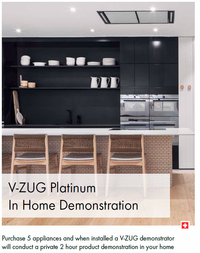 VZUG Platinum In Home Demonstration & Training