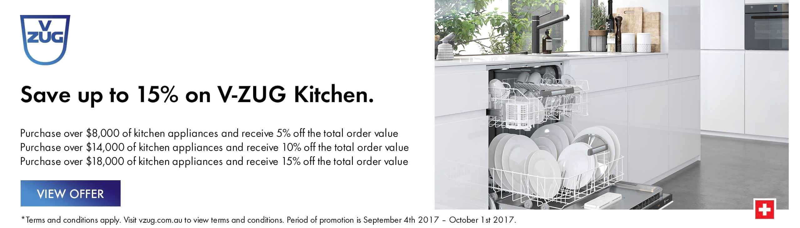 VZUG Sept'17 Promotion
