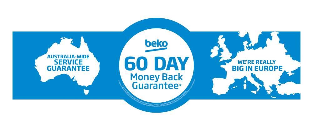Camberwell Electrics BEKO 60 Day Money Back Guarantee 2017